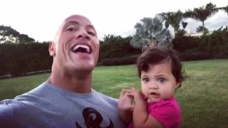 Download Dwayne Johnson Adorably Sings to Daughter Jasmine on Her First Birthday - See the Sweet Moment! Video