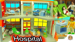 Download Broken Leg + Baby Gets A Shot From Doctor At Children's Medical Hospital Playmobil Video Video