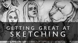 Download Getting GREAT At Sketching - Try This One Thing Video