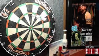 Download Rattlesnake vs tommy9er -WDA Darts Video