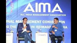 Download Arnab Goswami & MohanDas Pai discuss News Industry at AIMA's NMC Video