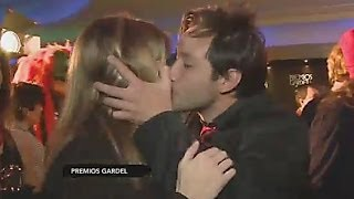 Download Luciano Pereyra le robó un beso a la notera de CQC Video