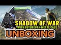 Download Middle-Earth Shadow of War(PS4/Xbox One) with Future Pak Metal Case Unboxing !! Video