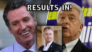 Download Red Wave or Blue Wave? California Primary Results In! John Cox vs. Gavin Newsom Video