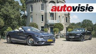Download Rolls-Royce Dawn vs. Mercedes-Maybach S 650 Cabriolet Video
