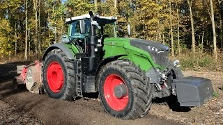 Download Fendt 1050 Vario needs his horsepower in the forestry Trekkerweb agco power Video
