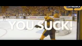Download The NHL Censors ″You Suck!″ chants from Nashville Predators fans Video