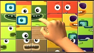 Download BIG BLOCK SINGSONG Box Puzzle! Cool Sliding Puzzle Games For Kids Video