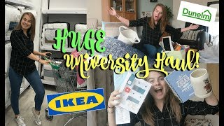 Download ABSOLUTELY MASSIVE FIRST YEAR UNIVERSITY HOMEWARE HAUL! | IKEA, Dunelm Mill, Argos, The Range + More Video