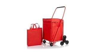 Download 3Wheel StairClimbing Folding Cart with Nylon Liner Video