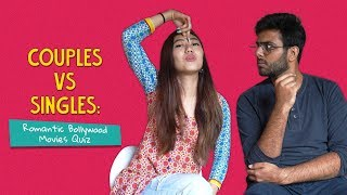 Download Couples Vs Singles: Romantic Bollywood Movies Quiz | Ft. Arushi & Joshua | Ok Tested Video