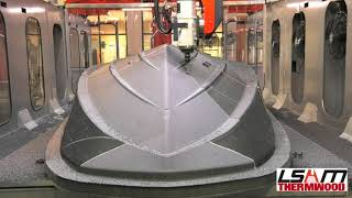 Download LSAM 3D Printed Marine Boat Hull Pattern Video