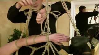 Download Fesselzeit: Teil 15 - Strappado Hogtie Suspension Video