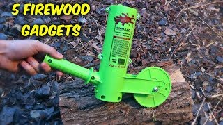 Download 5 Firewood Gadgets put to the Test Video