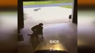 Download Boy Caught On Video Sneaking Into Garage to Hug Dog: He's Over Every Day Now Video