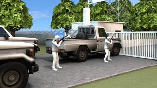Download Filipino UN peacekeepers make daring escape from rebels in the Golan Heights Video