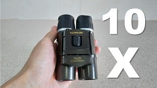 Download VISIONKING 10X25 Portable Compact Folding Binocular with Viewing Test 4K Video