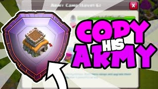 Download USING THE WORLDS 4th TH8 LEGEND LEAGUE PLAYER ARMY In Clash of Clans! Video