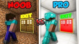Download Minecraft NOOB vs. PRO: BASE ESCAPE in Minecraft! Video