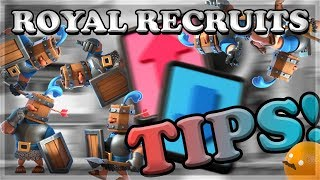 Download Royal Recruit Draft Challenge Gameplay Tips! | Clash Royale 🍊 Video