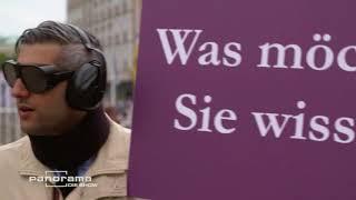 Download Michel Abdollahi unterwegs im Altersanzug | Panorama die Show Video
