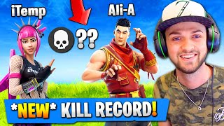 Download OUR MOST KILLS *EVER* in Fortnite: Battle Royale! (NEW RECORD) Video