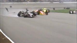 Download CART Indy 500 1991 Huge crash Guerrero Cogan Foyt Video