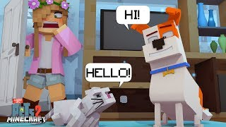 Download THE PETS CAN TALK!   Minecraft Secret Life Of Pets   Little Kelly Video
