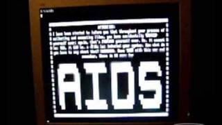 Download AIDS MS-DOS Virus Video
