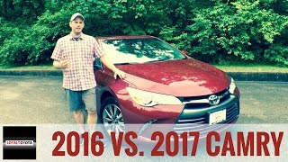 Download 2016 vs 2017 Toyota Camry - LOYALTOYOTA Video