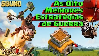 Download AS 8 MELHORES ESTRATÉGIAS PARA CV8 :: CLASH OF CLANS Video