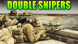 Download Double Sniper Team Destroys The Enemy! | Battlefield 4 Double Vision Video
