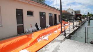 Download Hochwasser: Der Bodensee hat noch zirca 20 Zentimeter Spielraum Video