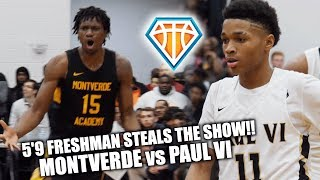 Download 5'9 FRESHMAN STEALS THE SHOW vs Montverde Academy!! | Reigning National Champs COME BACK Video