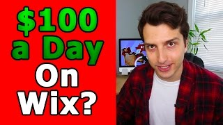 Download Make Money Online With FREE Wix Websites (Easy $100/Day Method) Video