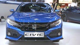 Download 2017 Honda CIVIC Hatchback WORLD PREMIERE at the Paris Motor Show Video