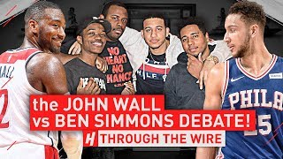 Download The John Wall vs Ben Simmons Debate | Through The Wire Podcast Video