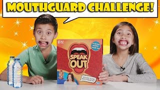 Download MOUTHGUARD CHALLENGE!!! Speak Out Game Time! Video