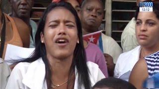 Download Cuba, tutti in piazza per l'omaggio a Fidel. Le sue ceneri attraversano l'isola Video