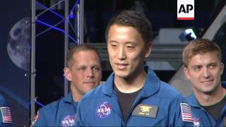 Download NASA Picks 12 New Astronauts from Huge Pool Video