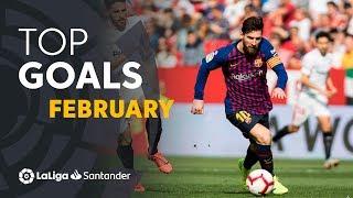 Download TOP 5 Goles Febrero LaLiga Santander 2018/2019 Video