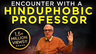 Download Rajiv Malhotra's Encounter with a Hinduphobic Professor from Univ of Chicago #3 Video