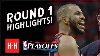 Download Chris PAUL Full ROUND 1 Highlights vs Minnesota Timberwolves | All GAMES - 2018 Playoffs Video