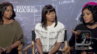 Download Taraji Henson, Octavia Spencer and Janelle Monae talk about John Glenn and Hidden Figures Video