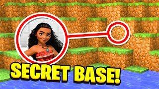 Download Minecraft : WE FOUND MOANA'S SECRET BASE!(Ps3/Xbox360/PS4/XboxOne/PE/MCPE) Video
