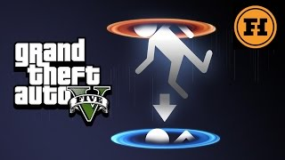 Download Mod Gameplay - Portals in GTA 5! Video