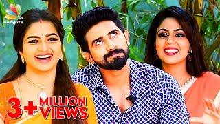 Download We love men with beards! : Nandhini Serial Actress Interview | Ganga, Janaki, Arun Video