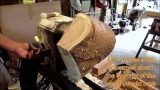 Download Woodturning Wood From a Neighbour Video