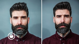 Download Short Beard Trim With Disconnected Mustache | Carlos Costa Video