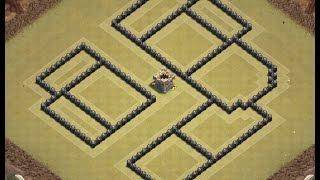 Download Th8 war base + replays | Th8 anti 3 star | Diseño de aldea | Clash of clans Video